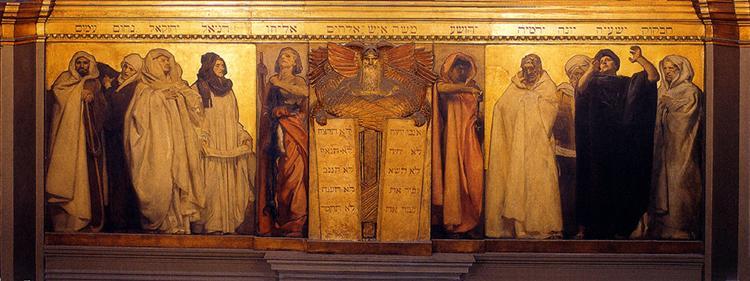 Frieze of Prophets, 1895 - John Singer Sargent
