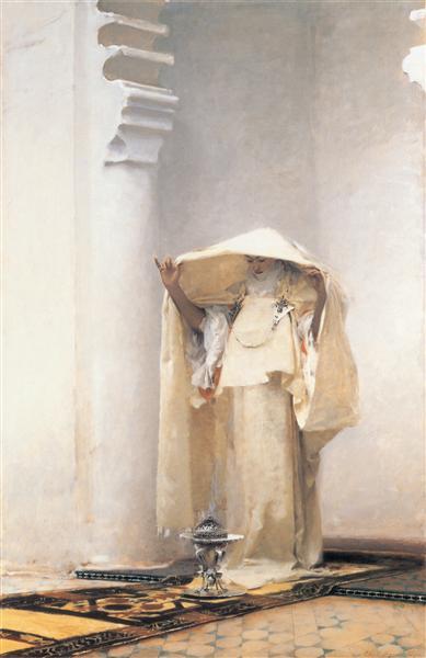Fumee d'Ambre Gris, 1880 - John Singer Sargent