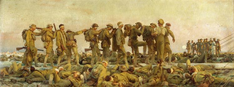 Gassed, 1918 - John Singer Sargent