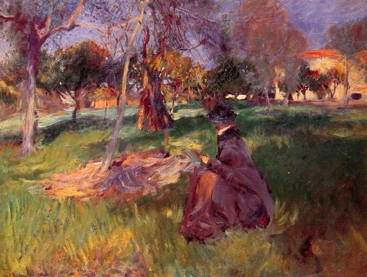 In the Orchard, c.1886 - John Singer Sargent
