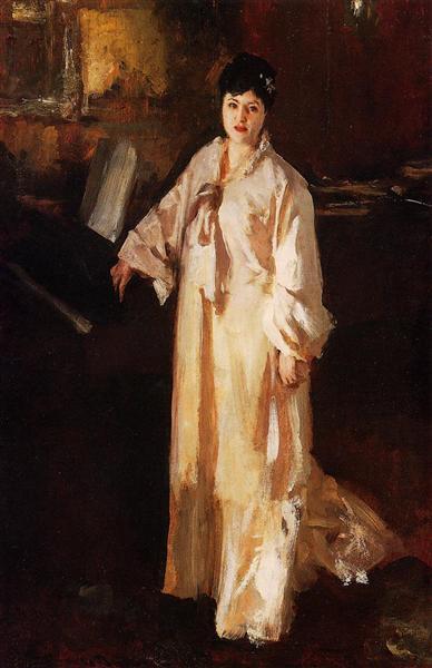 Judith Gautier, c.1885 - Джон Сингер Сарджент