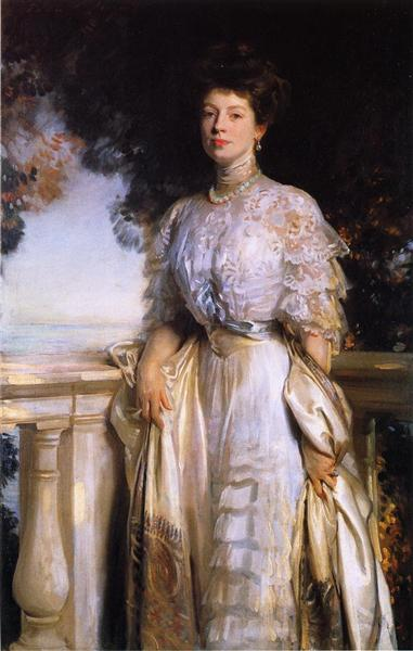 Mrs. Edward Deshon Brandegee, 1907 - John Singer Sargent