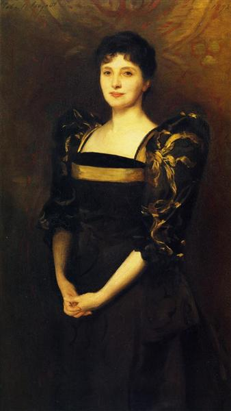 Mrs. George Lewis (Elizabeth Eberstadt), 1892 - John Singer Sargent