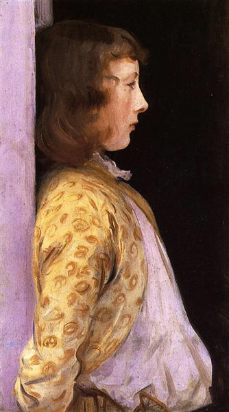 Portrait of Dorothy Barnard - John Singer Sargent