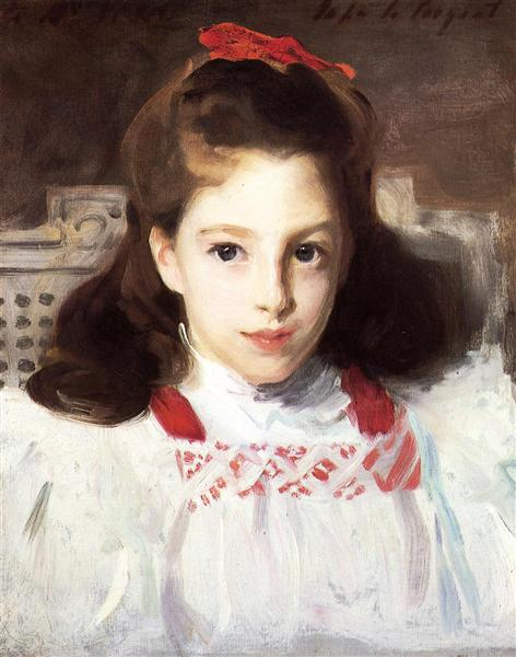 Portrait of Miss Dorothy Vickers, c.1884 - John Singer Sargent