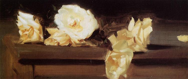 Roses, c.1886 - John Singer Sargent