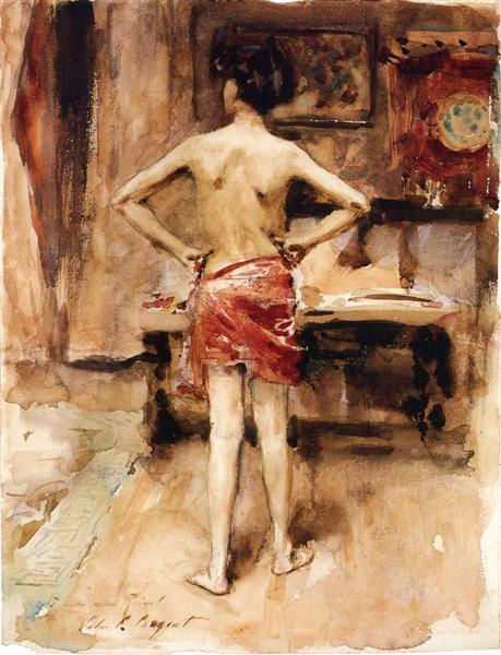 The Model, 1876 - John Singer Sargent