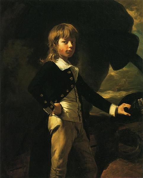 Midshipman Augustus Brine, 1782 - John Singleton Copley