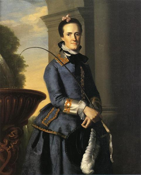 Mrs.Epes Sargent, 1764 - John Singleton Copley