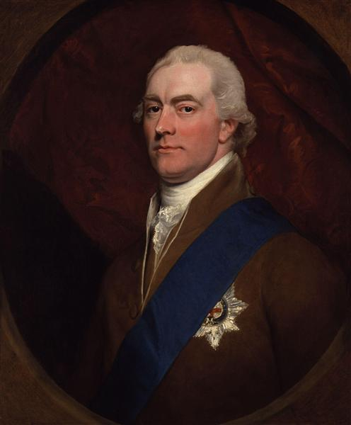 Portrait of George John Spencer, 2nd Earl Spencer - John Singleton Copley