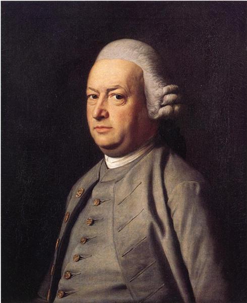 Potrait of Thomas Flucker, 1770 - 1771 - John Singleton Copley