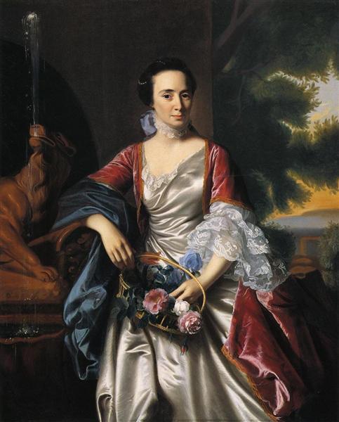 Rebecca Boylston, 1767 - John Singleton Copley