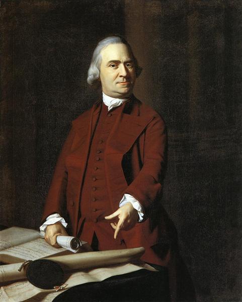 Сэмюэль Адамс, c.1770 - c.1772 - Джон Синглтон Копли