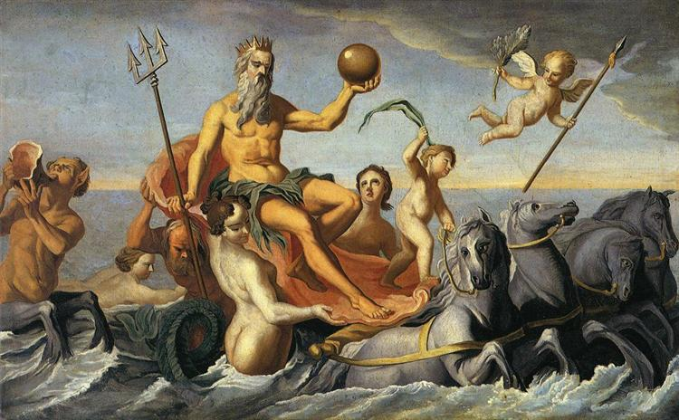 The Return of Neptune, c.1754 - John Singleton Copley