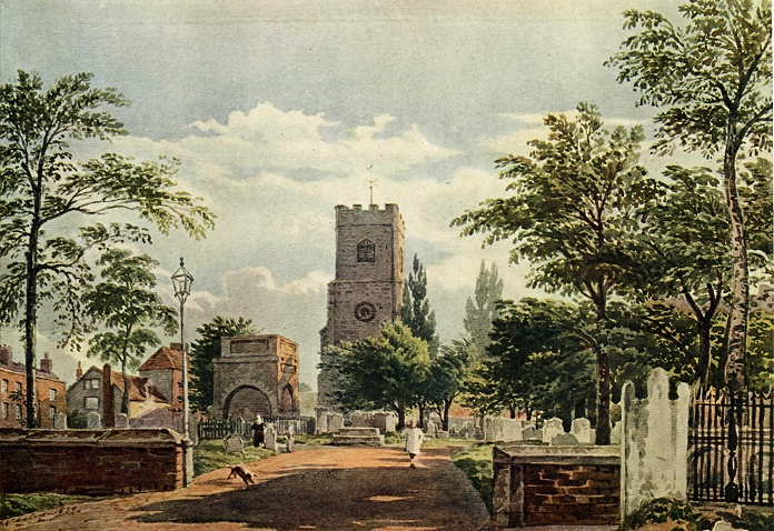 Hackney Church - John Varley