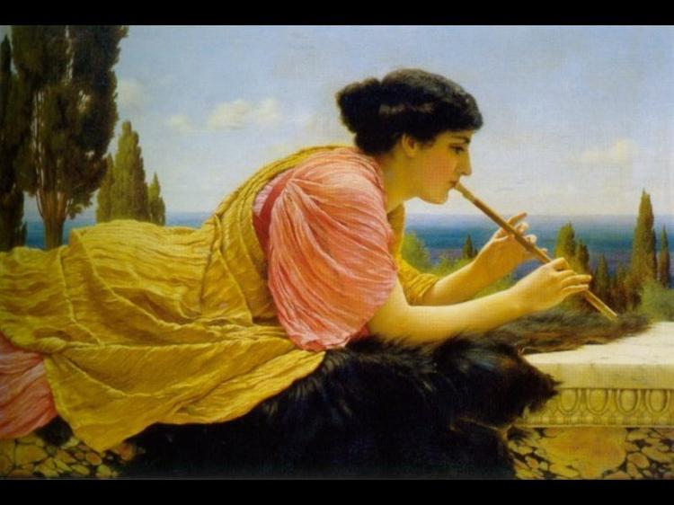 A Melody, 1904 - John William Godward