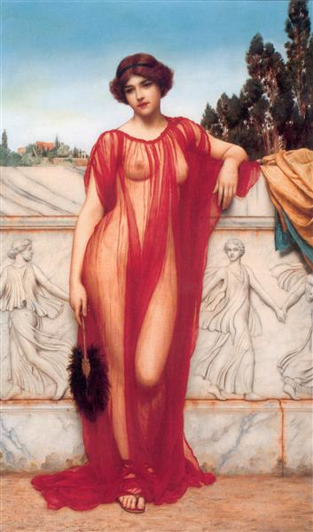 Athenais, 1908 - John William Godward