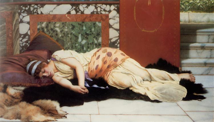 Endymion, 1893 - John William Godward