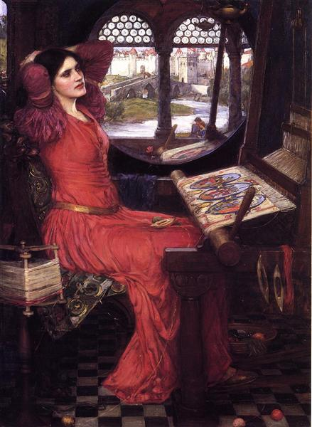I am Half Sick of Shadows, said the Lady of Shalott, 1915 - John William Waterhouse