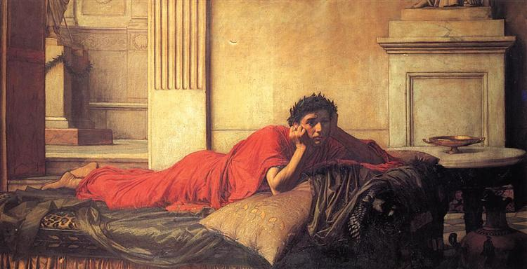 The Remorse of Nero After the Murder of His Mother, 1878 - John William Waterhouse