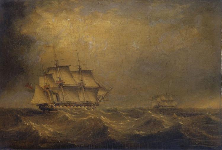 The Pursuit - John Wilson Carmichael