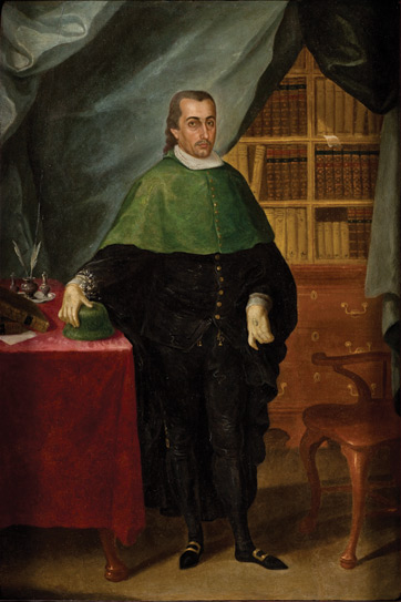 Retrato de un letrado eclesiástico, 1790 - Jose Campeche