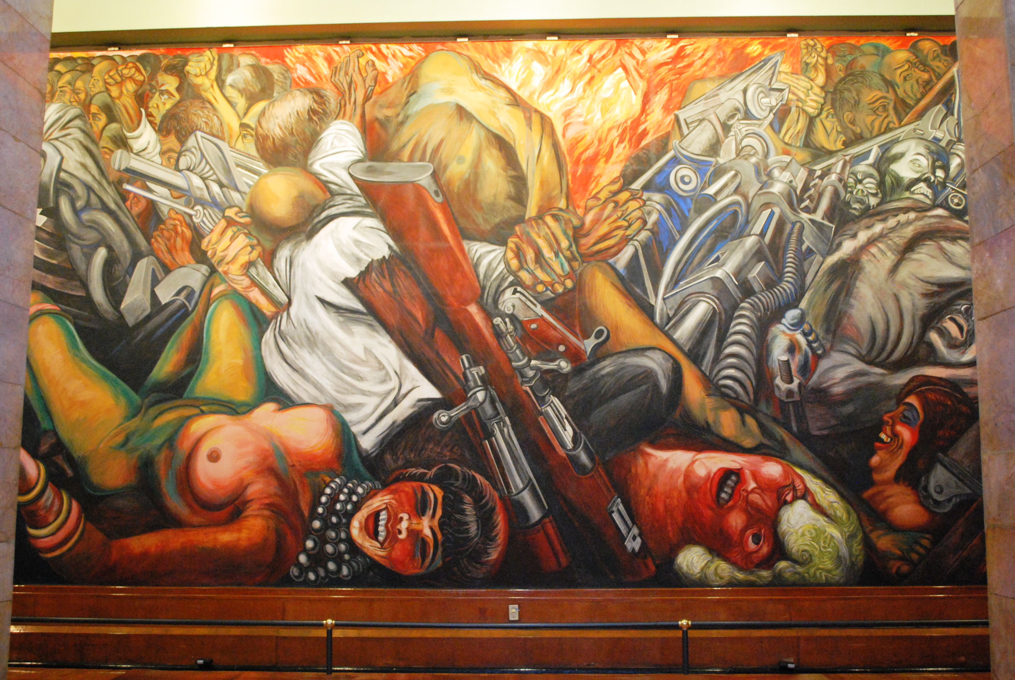 Catharsis 1934 jose clemente orozco for Mural mexicano