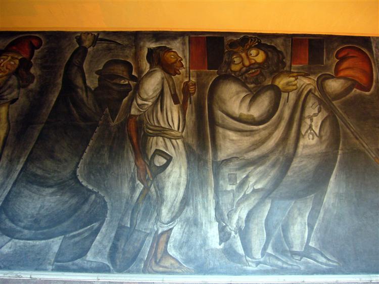 La Acechanza, 1926 - 何塞‧克萊門特‧奧羅斯科