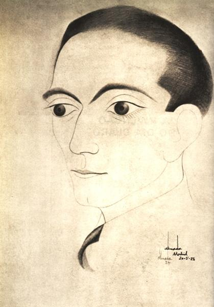 Self-Portrait, 1928 - Jose de Almada-Negreiros