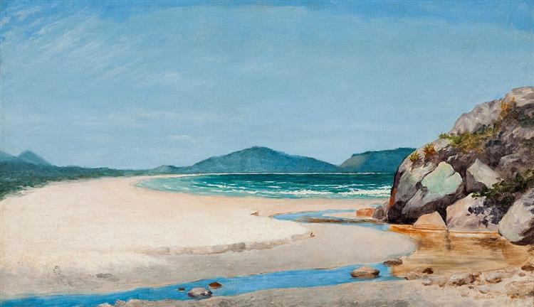 Seascape, Guarujá, 1895 - José Ferraz de Almeida Júnior