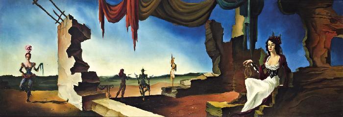 Allegory of music, 1946 - Jose Manuel Capuletti