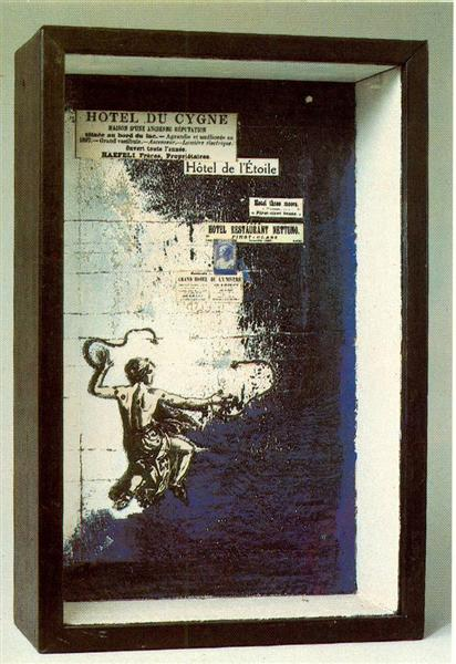 Untitled (Hotel du Cygne), 1955 - Джозеф Корнелл
