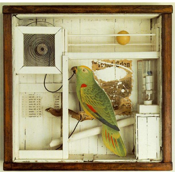 Untitled (The Hotel Eden) - Joseph Cornell