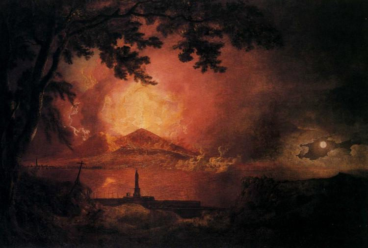 Vesuvius in Eruption, c.1777 - c.1780 - Joseph Wright
