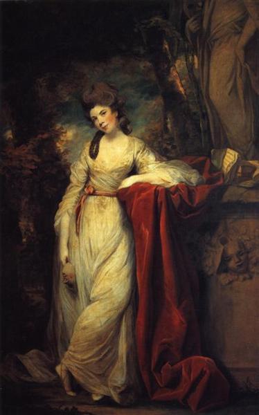 Portrait of Mrs. Abington, British Actress, 1764 - 1773 - Joshua Reynolds
