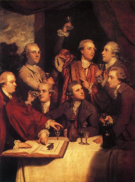 The Dilettanti Society, 1777 - 1778 - Joshua Reynolds