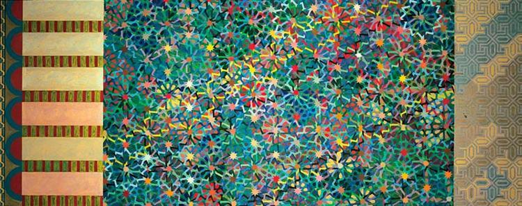 A Maze, 1977 - Joyce Kozloff