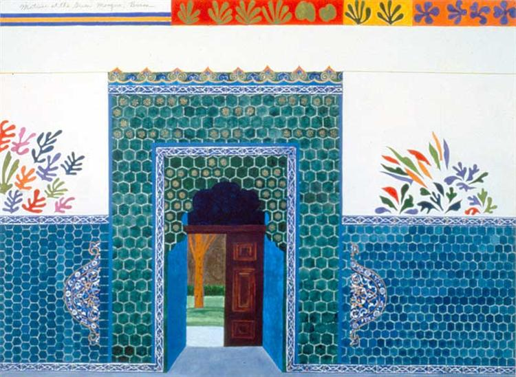 Matisse at the Green Mosque, Bursa - Joyce Kozloff