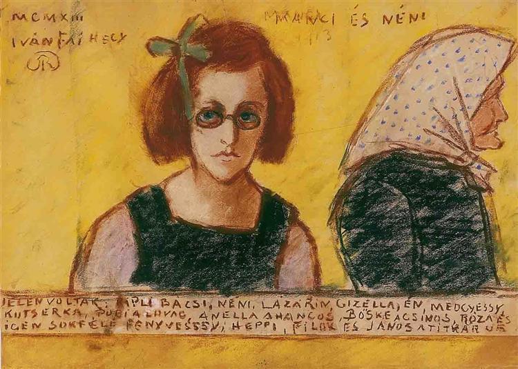 Aunt Manci, 1913 - Jozsef Rippl-Ronai