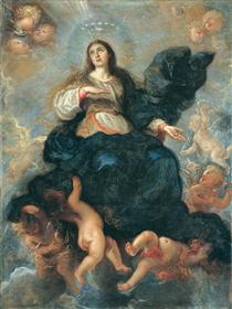 Assumption of the Virgin - Juan Carreno de Miranda