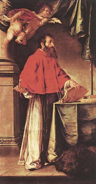 St. Jerome, 1657 - Juan de Valdés Leal