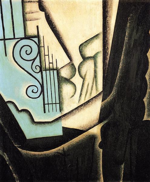 The Garden, 1916 - Хуан Грис