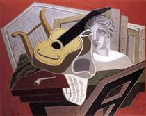 The Musician s Table - Juan Gris