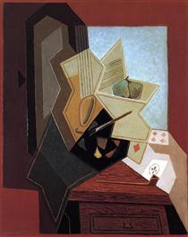 The Painter`s Window - Juan Gris