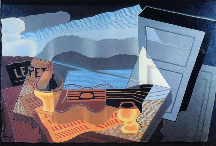 View across the Bay, 1921 - Хуан Грис