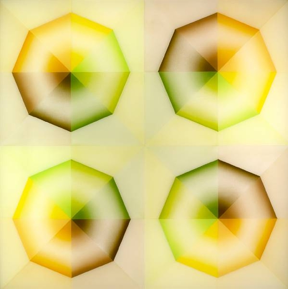 Pasadena Lifesavers Yellow Series #5, 1969 - Judy Chicago