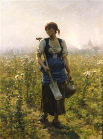 Le Matin - Jules Breton