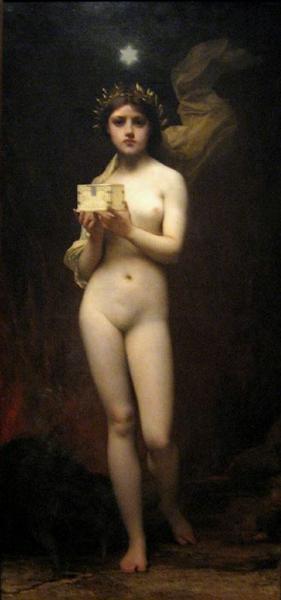 Pandora, 1872 - Jules Joseph Lefebvre