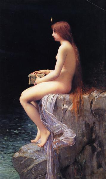Pandora, 1882 - Jules Joseph Lefebvre