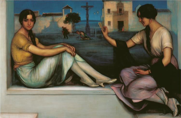 La Buenaventura, 1922 - Хулио Ромеро де Торрес
